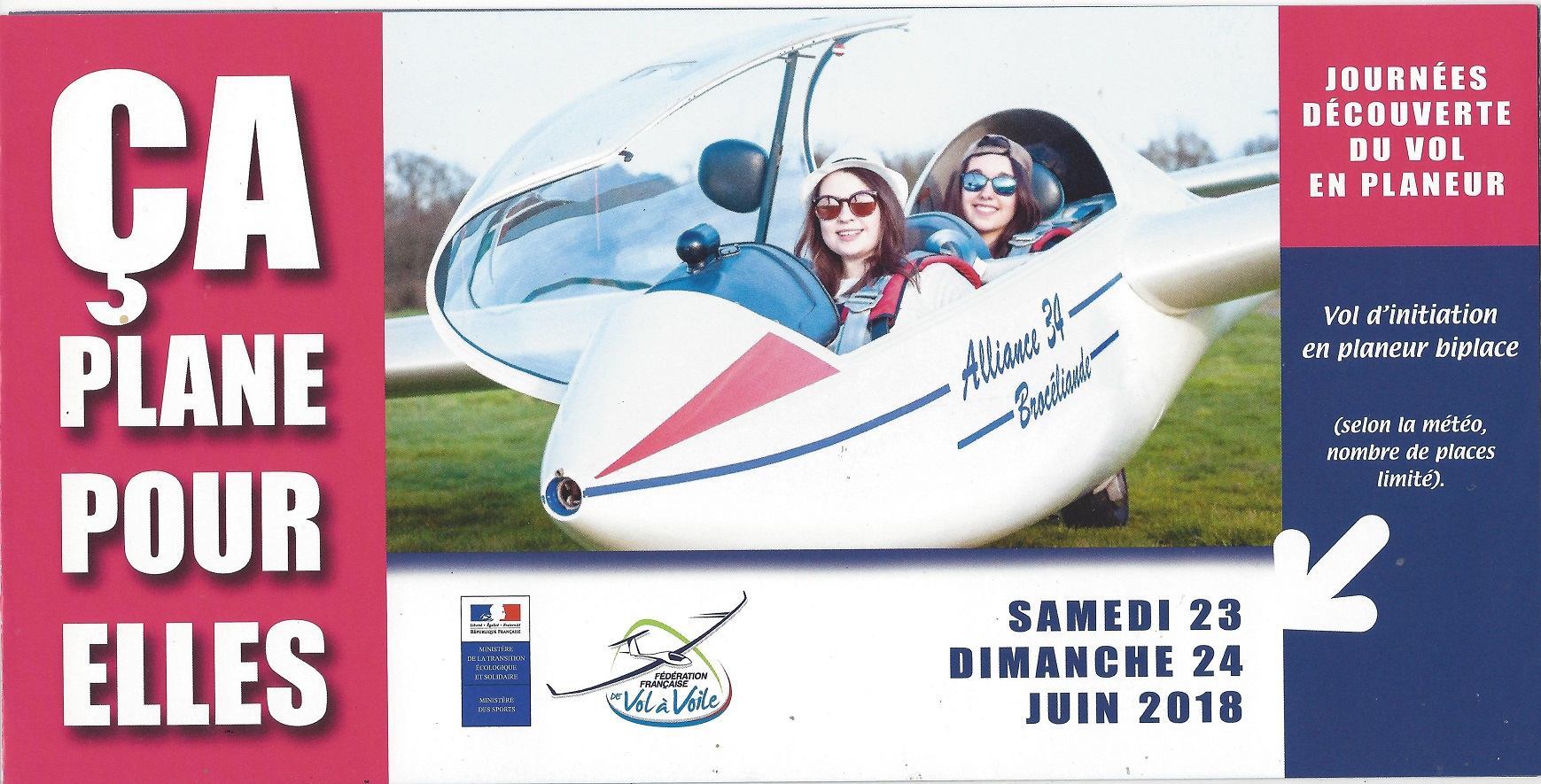 Ca plane pour elles / Gliding for girls